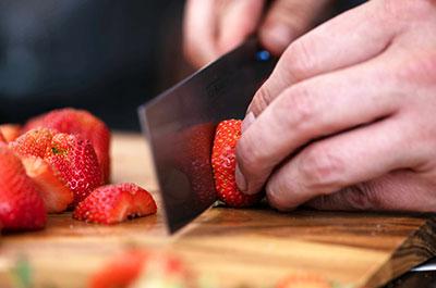 Erdbeer-Marshmallow Kuchen